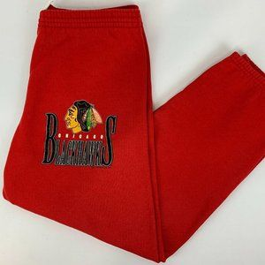 Vintage 1994 Chicago Blackhawks Medium Sweatpants